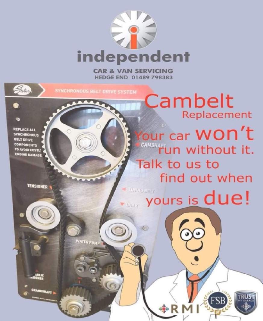 The importance of renewing your cambelt
